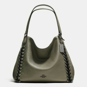 Coach Edie Shoulder Bag 31 - Leather Surplus Green